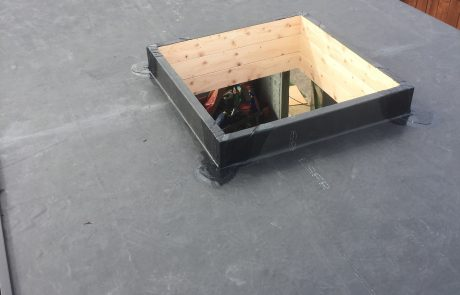 Roof Light on EPDM flat roof Newcastle