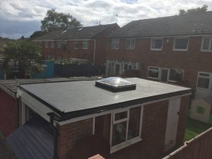 Flat Roof Extension with Rooflight